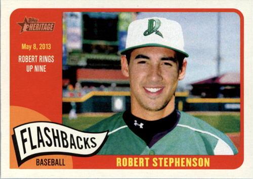 Photo of 2014 Topps Heritage Minors Flashbacks #FBRS Robert Stephenson