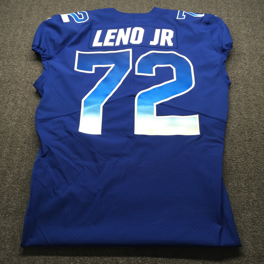 new product dcc7e a8a78 NFL Auction | NFL - Bears Charles Leno Game Issued 2019 Pro ...