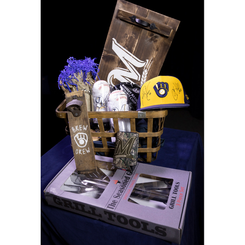 Photo of Hook & Karsay Pitching Coach Basket created by Toni Hook & Patricia Karsay