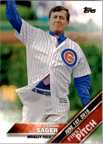 Photo of 2016 Topps Update First Pitch #FP9 Craig Sager