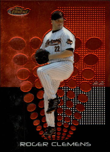 Photo of 2004 Finest #48 Roger Clemens