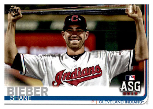 Photo of 2019 Topps Update #US75 Shane Bieber AS