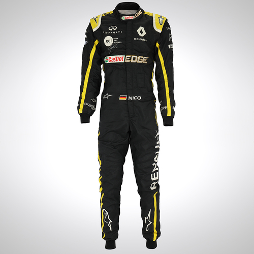 Photo of Nico Hulkenberg 2019 Canadian Grand Prix Race-Used Suit - Renault F1 Team