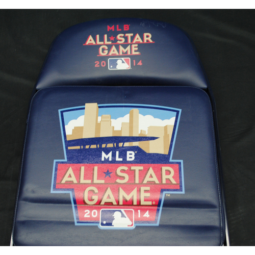 Photo of 2014 All Star Game (07/14/2014) - Autographed Locker Room Chair - Tony Watson (Pittsburgh Pirates)