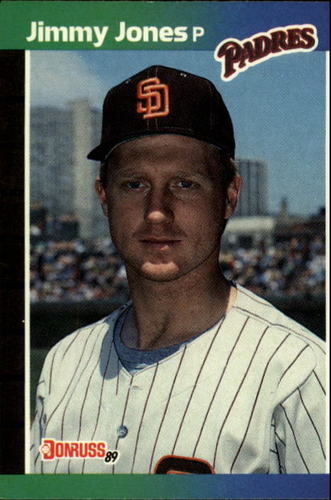 Photo of 1989 Donruss #247 Jimmy Jones