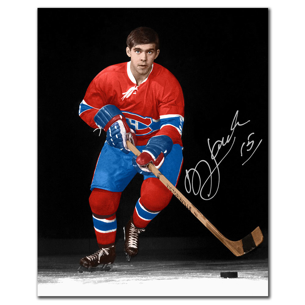 Rejean Houle Montreal Canadiens ROOKIE Autographed 8x10