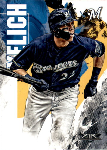 Photo of 2019 Topps Fire #18 Christian Yelich