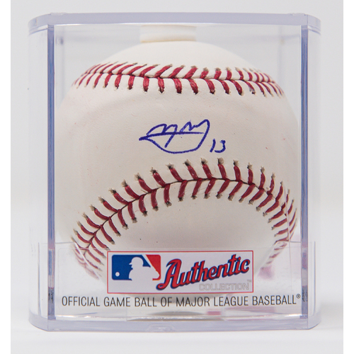 Photo of Manny Machado Autographed Baseball (Not MLB Authenticated, COA Included)