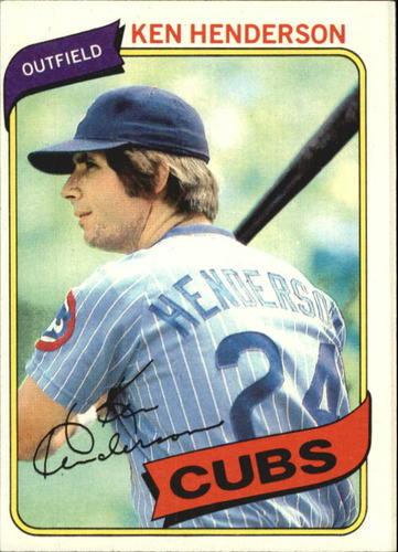 Photo of 1980 Topps #523 Ken Henderson