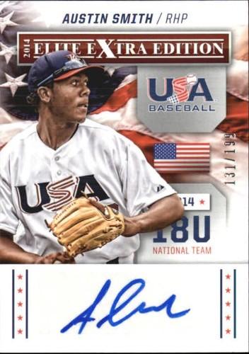 Photo of 2014 Elite Extra Edition USA Baseball 18U Signatures #2 Austin Smith
