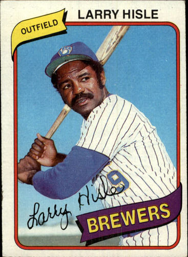 Photo of 1980 Topps #430 Larry Hisle DP