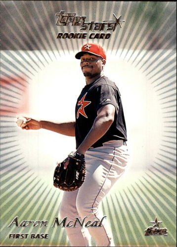 Photo of 2000 Topps Stars #74 Aaron McNeal RC