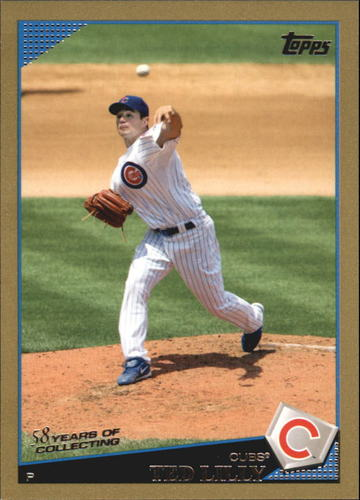 Photo of 2009 Topps Gold Border #569 Ted Lilly