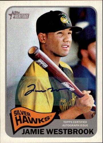 Photo of 2014 Topps Heritage Minors Real One Autographs #ROAJW Jamie Westbrook