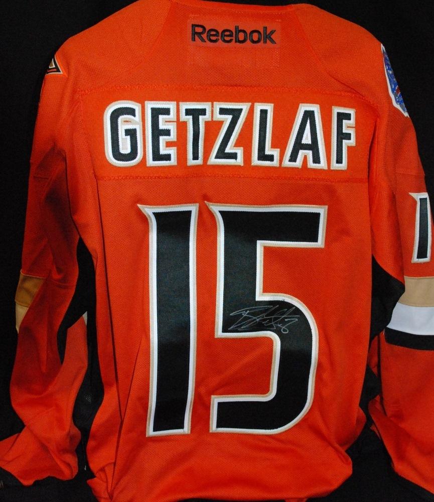separation shoes 95fd3 6d427 15 Ryan Getzlaf Anaheim Ducks 2014 Coors Light NHL Stadium ...