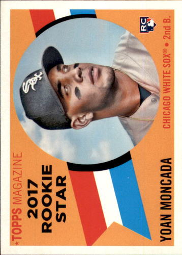 Photo of 2017 Topps Archives '60 Rookie Stars #RS1 Yoan Moncada