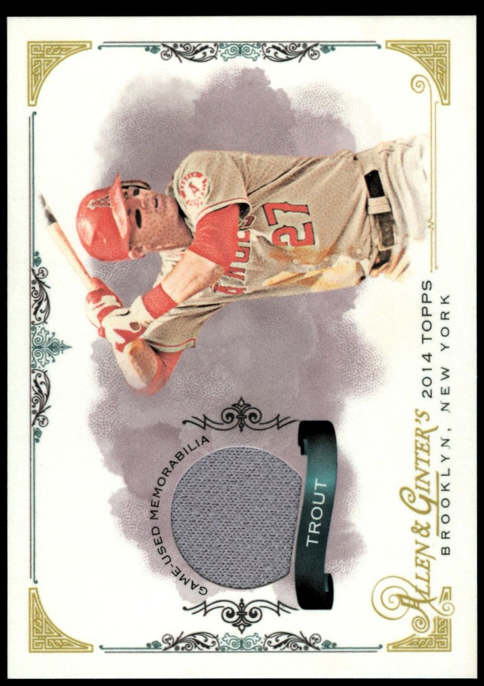 2014 Topps Allen and Ginter Relics Mike Trout