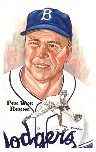 Photo of 1980-02 Perez-Steele Hall of Fame Postcards #189 Pee Wee Reese -- HOF Class of 1984