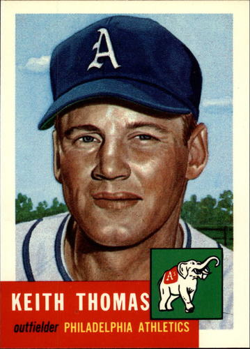 Photo of 1991 Topps Archives 1953 #129 Keith Thomas