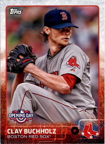 Photo of 2015 Topps Opening Day #36 Clay Buchholz