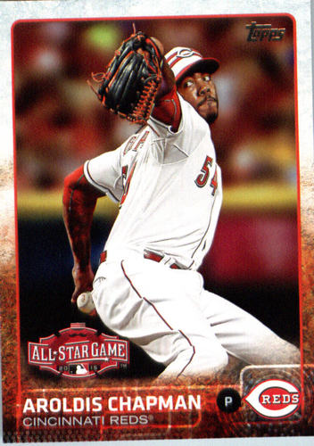 Photo of 2015 Topps Update #US368 Aroldis Chapman