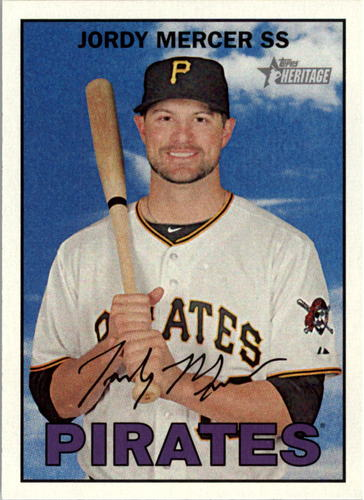 Photo of 2016 Topps Heritage #395 Jordy Mercer