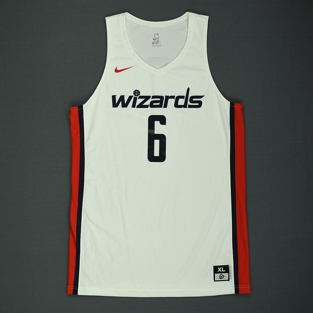 Troy Brown Jr. - Washington Wizards - 2018 NBA Summer League - Game-Worn Jersey