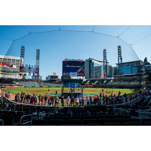 2019 Atlanta Braves Batting Practice Experience