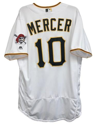 Photo of Jordy Mercer 2018 Game-Used Jersey - 1 for 2