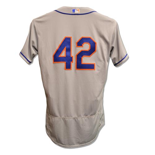 san francisco e5d99 9b424 MLB Auctions | Steven Matz #42 - Team Issued #42 Jersey ...