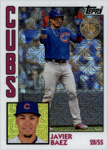 Photo of 2019 Topps '84 Topps Silver Pack Chrome #T844 Javier Baez