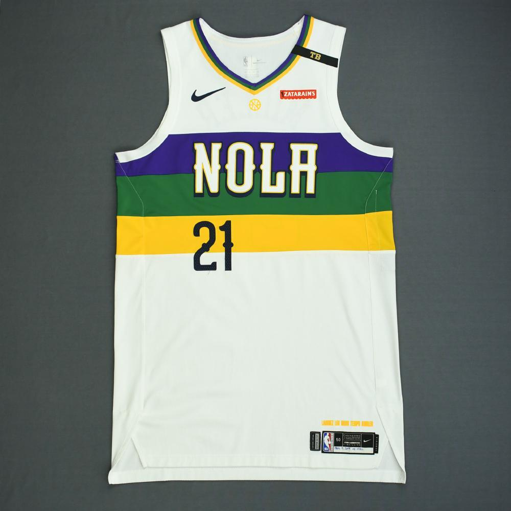 Darius Miller - New Orleans Pelicans - Game-Worn City Edition Jersey - 2018-19 Season