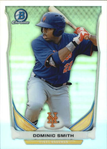 Photo of 2014 Bowman Chrome Draft Top Prospects Refractors #CTP26 Dominic Smith