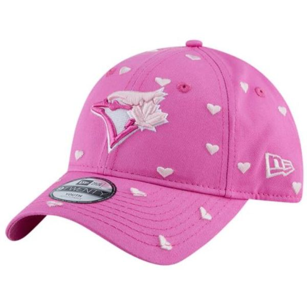 Toronto Blue Jays Toddler/Child Lovely Fan Pink Cap by New Era