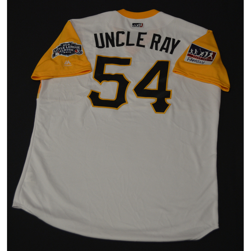 "Photo of 2019 Little League Classic - Game Used Jersey - Ray ""Uncle Ray"" Searage,  Chicago Cubs at Pittsburgh Pirates - 8/18/2019 (Size - 48)"