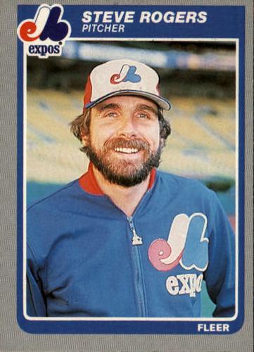 Photo of 1985 Fleer #408 Steve Rogers