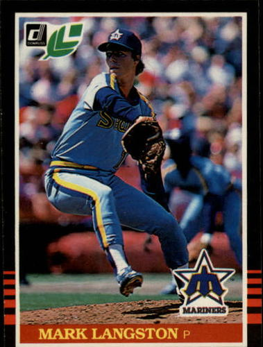 Photo of 1985 Leaf/Donruss #56 Mark Langston RC