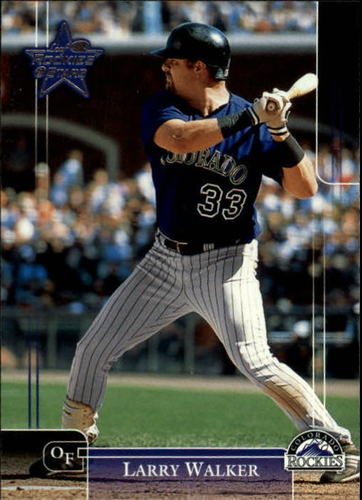 Photo of 2002 Leaf Rookies and Stars #151 Larry Walker Rockies