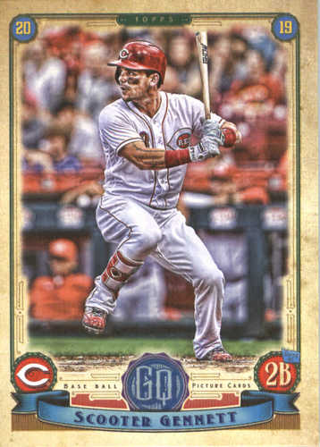 Photo of 2019 Topps Gypsy Queen #173 Scooter Gennett
