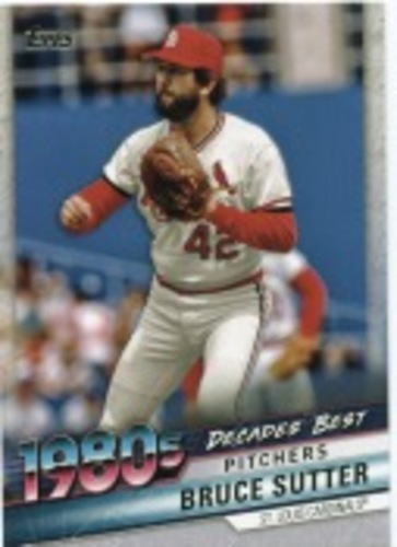 Photo of 2020 Topps Decades' Best Series 2 #DB69 Bruce Sutter