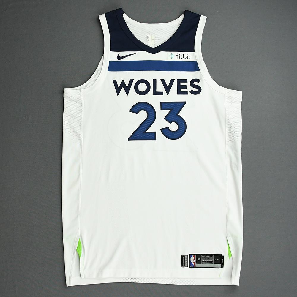 Jimmy Butler - Minnesota Timberwolves - NBA China Games - Game-Worn Association Edition Jersey (1 of 2) - 2017-18 NBA Preseason