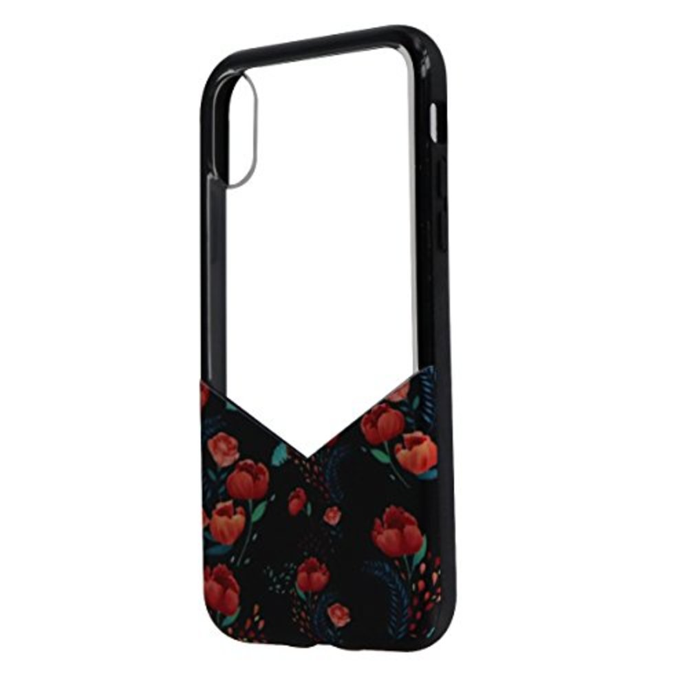 Photo of Milk and Honey New Suit Up Floral Roses Print Case For Apple iPhone X - Clear Retail Packaging