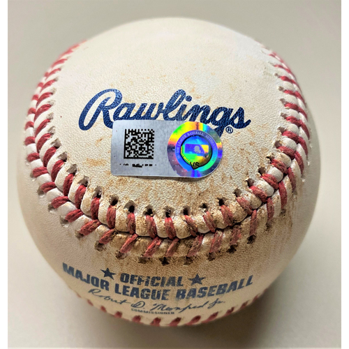 Photo of Game-Used Baseball: Anthony Rizzo Chicago Cubs Single (MLB AUTHENTICATED)