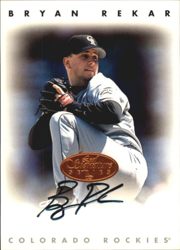 Photo of 1996 Leaf Signature Autographs #192 Bryan Rekar