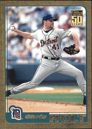 Photo of 2001 Topps Traded Gold #T45 Chris Holt
