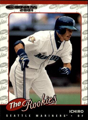 Photo of 2001 Donruss Rookies #R104 Ichiro Suzuki Rookie Card