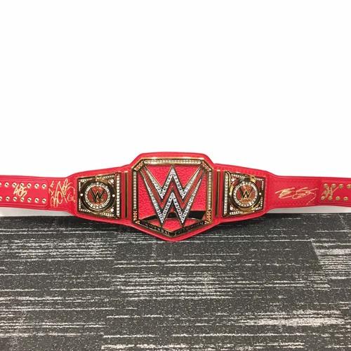 SIGNED WWE Universal Championship Replica Title (Brock Lesnar, Kevin Owens, Finn Bálor, Goldberg)
