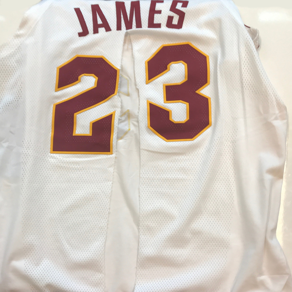 reputable site 34036 deb63 LeBron James - Cleveland Cavaliers - Opening Night Game-Worn ...