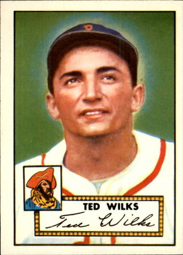 Photo of 1983 Topps 1952 Reprint #109 Ted Wilks
