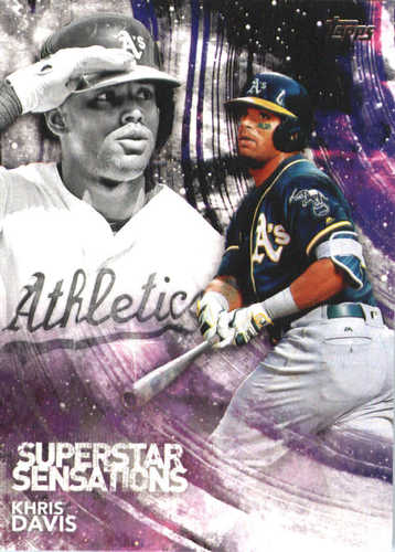 Photo of 2018 Topps Superstar Sensations #SSS28 Khris Davis